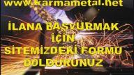 KARMA METAL-Demir dogramaci kaynakci usta eleman is alimi ilani istanbul esenyurt kirac
