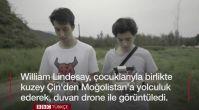 6 ay süren yolculukta Çin Seddi'ni havadan görüntüledi
