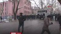 TBMM önündeki protestoya müdahale