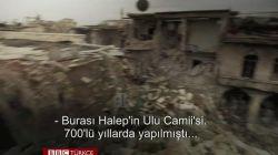 Halep'teki Ulu Camii'den geriye kalanlar