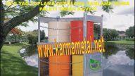 Çevre dostu kimyasal sıvı yağ atık dokuntu toplama taban küveti imalati KARMA METAL