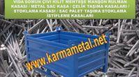 KARMA METAL - Metal taşıma sandıkları İnşaat kalıp çiroz taşıma kasaları