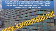 Karma Metal - demir çelik parçalar hurda metal taşıma kasası imalatı fiyatı çeşitleri boyutları