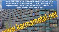 Karma Metal - demir çelik parçalar hurda metal taşıma kasası imalatı fiyatı çeşitleri boyutları...