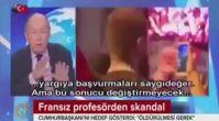 Fransız televizyonunda Erdoğan'a yönelik skandal sözler