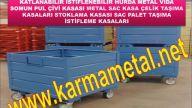 Metal palet ve taşıma kasaları - KARMA METAL