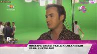 Mustafa Ceceli TV8 Röpörtajı (Klip Çekimleri)