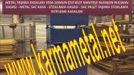 KARMA METAL-Celik sandiklar Istifleme kasalari Metal konteynirlar Istif kasalari Metal sac istifleme kasalari Tasima ve istifleme kasalari