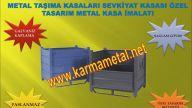 KARMA METAL-Metal Palet Tasima Kasalari Rulo Sac Paleti Otomotiv Parca Sanayi Tasima Paleti