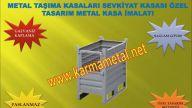 KARMA METAL-Paslanmaz civata vida rulman pul somun civi metal tasima kasalari
