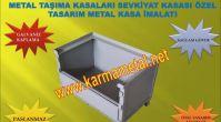 KARMA METAL-Galvaniz kaplamali paslanmaz metal tasima kasasi kasalari imalati
