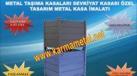 KARMA METAL-Endüstriyel Taşıma ve İstifleme Ekipmanları - Saç Palet - Metal Palet - Taşıma Arabaları...
