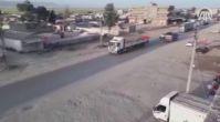 ABD'nin YPG'ye verdiği silahlar TIR'larla sevk ediliyor