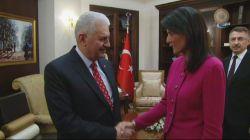 Başbakan Yıldırım, BM Daimi Temsilcisi Haley'i kabul etti