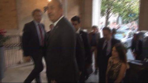 - Dışişleri Bakanı Mevlüt Çavuşoğlu, Roma'da