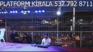 iftar ramazan platform çadır sahne kiralama dj ışık ses organizasyonları doruk platfom