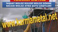KARMA METAL-MOLOZ ATMA DOKME BACASI MOLOZ SUTU MOLOZ KULESI IMALATI