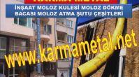KARMA METAL-MOLOZ TAHLIYE BORUSU MOLOZ KULE IMALATI