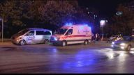 Otomobille minibüs çarpıştı: 1 yaralı