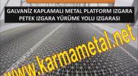 YARIM GECME TAM GECME IZGARA IMALATI MERDIVEN VE YURUME YOLU IZGARASI - KARMA METAL
