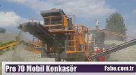 İzmir Mobil Konkasör İmalatı Firması Fabo Makina