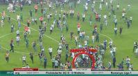 Konyasporlu taraftarlardan Beşiktaşlı futbolculara saldırı