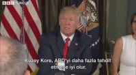 Trump'tan Kuzey Kore'ye 'öfke ve ateş' mesajı