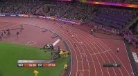 Usain Bolt son yarışını tamamlayamadı