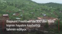 Sierra Leone'de toprak kayması: Çoğu kişi uykuda yakalandı