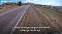 Bisikletle gezdiği Afrika'nın 'hayal arşivini' yapan Türk