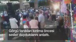 Ağaç canlı yayın sırasında yıkıldı: 13 ölü