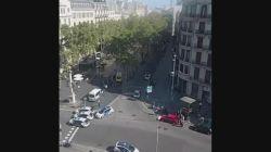 Barcelona'daki olay vatandaş kamerasına böyle yansıdı