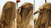 5 Dakikada Yapabileceğiniz Kolay Saç Modeli