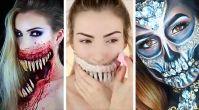 Mynet Kadın: Cadılar Bayramı Makjyajları Böyle Yapılıyormuş!