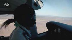 Zimbabve'nin tek kadın pilotu