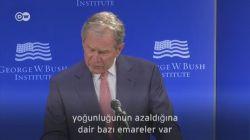 Bush adını anmadan Trump'ı eleştirdi