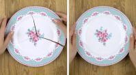 Kırılan tabaklarınızı eski haline getirmenin sırrını açıklıyoruz!