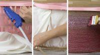 Çirkin plastik sepetlerden sıkılanlara dekoratif sepet yapımı