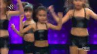 Queens Of The Dance dans performansı