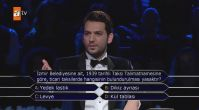 Oktay Kaynarca ve Deniz Çakır Kim Milyoner Olmak İster'de yarıştı