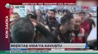 Beşiktaş'ın yeni transferi Domagoj Vida İstanbul'da