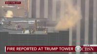 Trump Tower'da yangın paniği