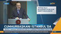 Erdoğan Marmara Üniversitesi'nde konuşuyor