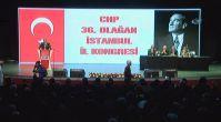CHP İstanbul İl kongresinde gerginlik