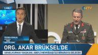 Afrin operasyonu öncesi Genelkurmay'dan çok kritik görüşme