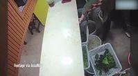 Restoranda şok görüntüler! Kadını öldüresiye dövdüler