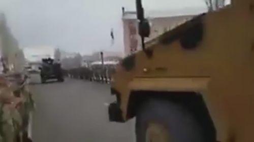Komandoların Afrin'e dualarla uğurlandığı anlar
