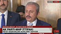 AK Parti-MHP toplantısının ardından ilk açıklama