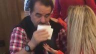 Azeri şarkıcı  İbrahim Tatlıses'i ağlattı