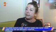 Yıllarını sanata adayan Nalan Varol Müge Anlı'da kanser olduğunu açıkladı